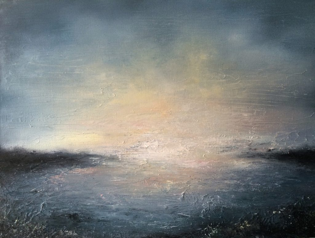Lindersfarne Oil On Canvas 60x46x3cm