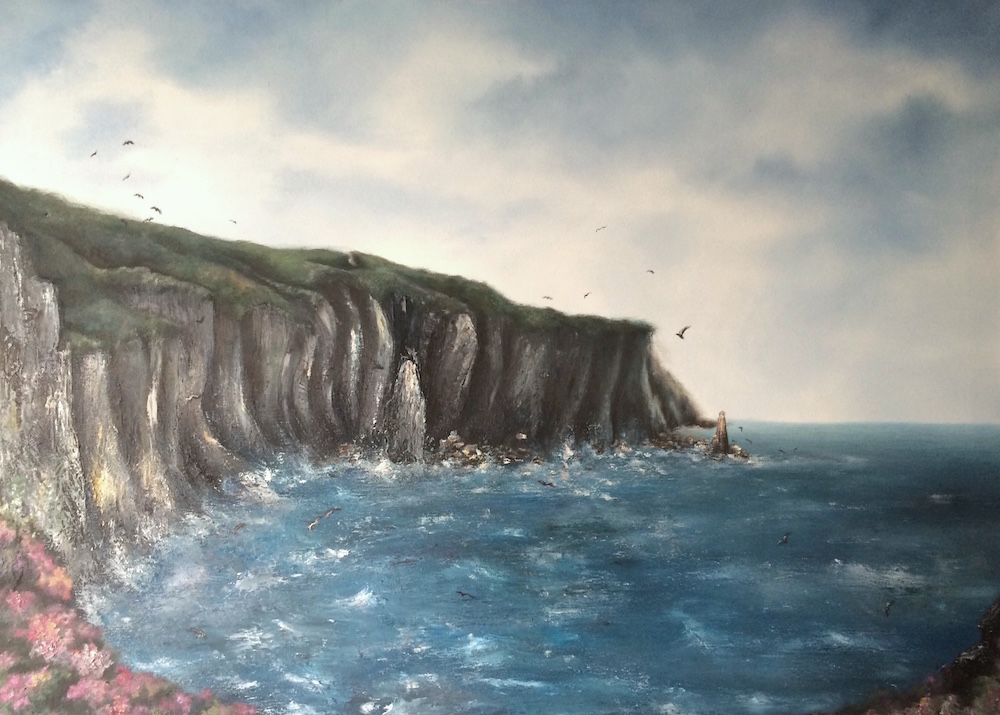 Jenny's Cove Oil Painting